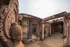 Sanchi Stupa, ancient buddhist hindu statue details, religion mystery, carved stone. Travel destination in Madhya Pradesh, India. Sanchi Stupa, ancient buddhist Stock Photos