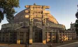 Sanchi Stupa India Royalty Free Stock Image