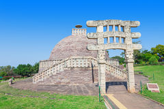 Sanchi Stupa, India Royalty Free Stock Image