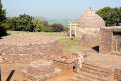 Sanchi Stupa is located at Sanchi Town in India Stock Image