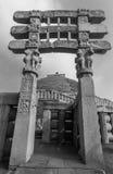 Sanchi Stupa Madhya Pradesh Royalty Free Stock Photography