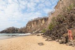 Sancho海滩费尔南多・迪诺罗尼亚群岛海岛 库存照片