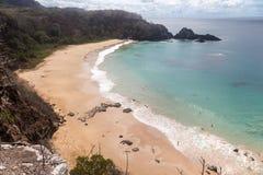 Sancho Пляж Фернандо de Noronha Остров Стоковое Фото