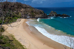 Sancho Bay,in Fernando de Noronha Royalty Free Stock Photo