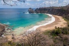 Sancho Beach Fernando de Noronha Island Fotografering för Bildbyråer