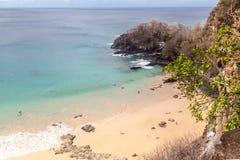 Sancho Beach Fernando de Noronha Island Stock Afbeelding