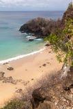 Sancho Beach Fernando de Noronha Island Lizenzfreies Stockbild