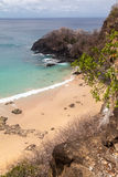 Sancho Beach Fernando de Noronha Island Royalty-vrije Stock Afbeelding
