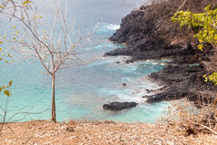 Sancho Beach Fernando de Noronha Island Immagine Stock
