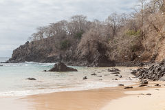 Sancho Beach Fernando de Noronha Island Στοκ Εικόνες