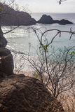 Sancho Beach Fernando de Noronha Island Lizenzfreie Stockbilder