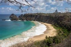 Sancho  Beach Fernando de Noronha Island Stock Images