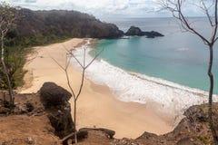 Sancho  Beach Fernando de Noronha Island Royalty Free Stock Photos