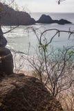 Sancho plaży Fernando De Noronha wyspa Obrazy Royalty Free