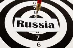 Sancitions για τη Ρωσία Στοκ Φωτογραφία