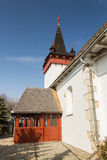 Sancraiu Reformed Church Royalty Free Stock Photos
