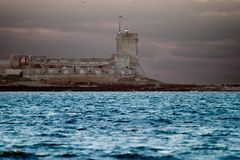 sancti petri замока Стоковое Фото