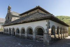 Sancti Spiritus Chapel in Roncesvalles. Spain. Stock Photography