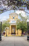 Sancti Spiritus City Hall or Municipal Popular Assembly building located in the city main plaza. Stock Images