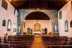 SANCTI SPIRITUS, CUBA - FEB 7, 2016: Interior of the Parroquial Mayor church in Sancti Spiritus, Cuba. Cuba`s oldest. Church stock photography
