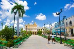 SANCTI SPIRITUS, CUBA - SEPTEMBER 5, 2015: Latin Stock Image