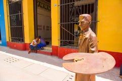 SANCTI SPIRITUS, CUBA - SEPTEMBER 5, 2015: Latin Royalty Free Stock Image