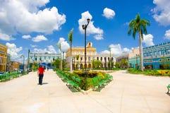 SANCTI SPIRITUS, KUBA - 5. SEPTEMBER 2015: Lateinisch stockfoto