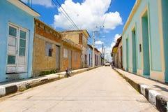 SANCTI SPIRITUS, KUBA - 5. SEPTEMBER 2015: Lateinisch Lizenzfreies Stockfoto
