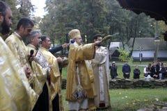 Sanctification d'église Images libres de droits