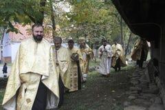 Sanctification d'église Image libre de droits