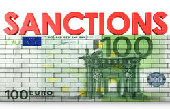 Sanctions Royalty Free Stock Image