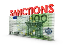 Sanctions Royalty Free Stock Photo