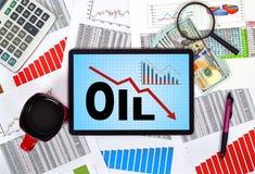 Sanctions d'huile Photos libres de droits