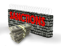 Sanctions Stock Image