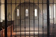 Sanctuaire d'église Images libres de droits