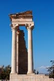 Sanctuaire d'Apollo Images stock
