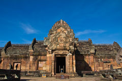 Sanctuaire d'art de Khmer en Thaïlande Photo stock