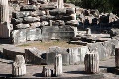 Sanctuaire d'Athéna images libres de droits