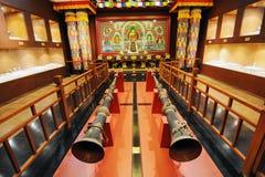 Sanctuaire de bouddhisme tibétain Images libres de droits