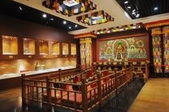 Sanctuaire de bouddhisme tibétain Photos stock