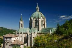 Sanctuaire de Castel Petroso Photo stock