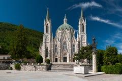 Sanctuaire de Castel Petroso Image libre de droits