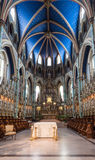 Sanctuaire de cathédrale de Notre-Dame à Ottawa photographie stock