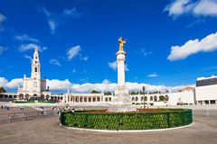 Sanctuaire de Fatima Images libres de droits