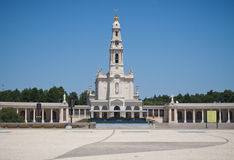 Sanctuaire de Fatima au Portugal photographie stock libre de droits