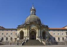 Sanctuaire de Loyola à Azpeitia, pays Basque Photographie stock libre de droits