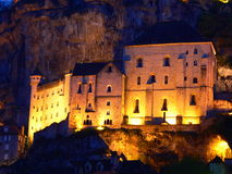 Sanctuaire de Notre-Dame de Rocamadour ( France ) Royalty Free Stock Photography