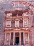 sanctuaire de PETRA de la Jordanie image libre de droits