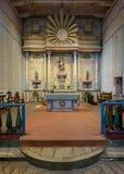 Sanctuaire de San Miguel de mission photos stock