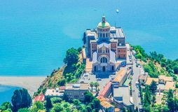Sanctuaire de Tindari Madonna Sicile Photos stock